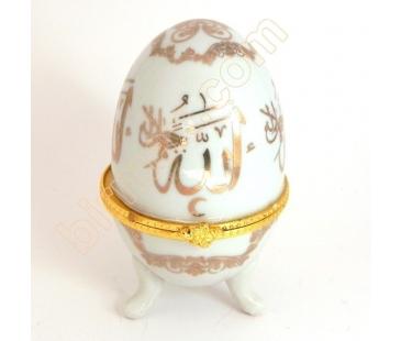 ALLAH yazılı porselen yumurta
