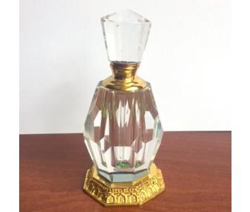 Döküm tabanlı parfüm şişesi 10cmx 4cm