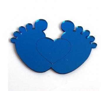 Mavi ayna ayak izi