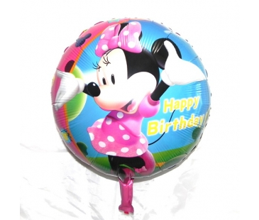 Minnie Mouse Temalı Folyo Balon