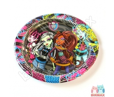 Monster High Temalı Tabak