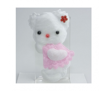 Peluş Sticer Hello Kitty