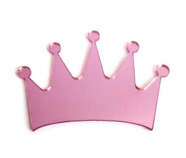 Pembe ayna prenses tacı