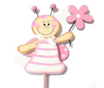 Pembe çubuklu bebek