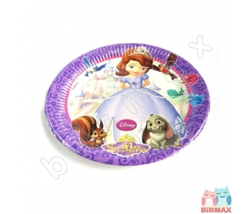 Sofia The First Temalı Tabak